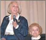 Doris Schecter and Ruth Gruber