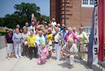 Holocaust Survivors Summer Trip to The Sam Azeez Museum of Woodbine Heritage
